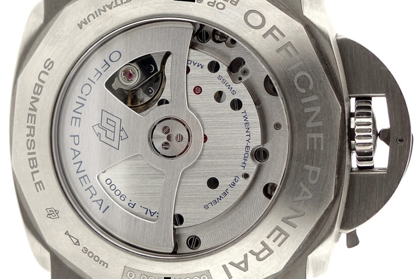 PAnerai Caliber P.9000 in-house movement