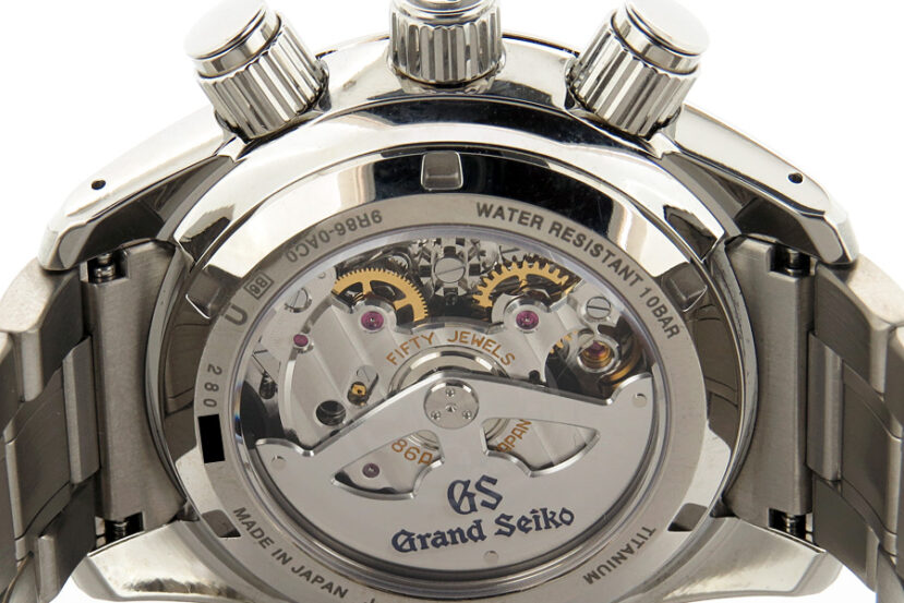 Grand Seiko caliber 9R86 in Spring Drive model SBGC005