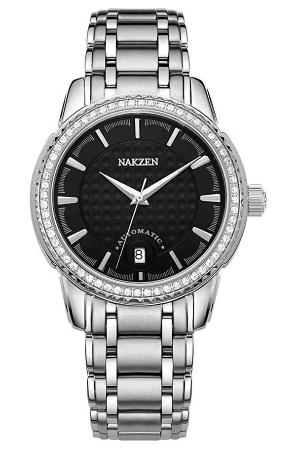 Nakzen Diamonds Watch 8215