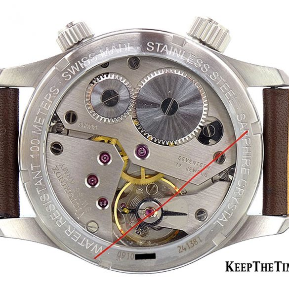 Unitas 6497 in a Victorinox Swiss Army AirBoss Watch