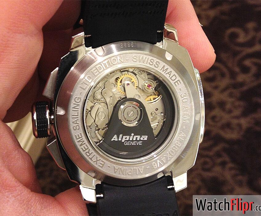Alpina AL-880 REGATTA COUTDOWN caliber