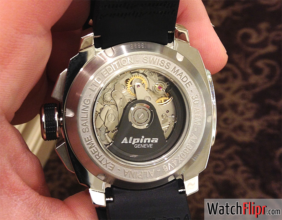 Alpina AL-880 REGATTA COUTDOWN caliber