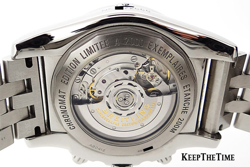 Breitling Caliber 04 In-House Movement