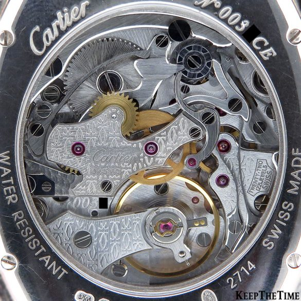 Cartier Caliber 045MC Tortue Mono Poussoir