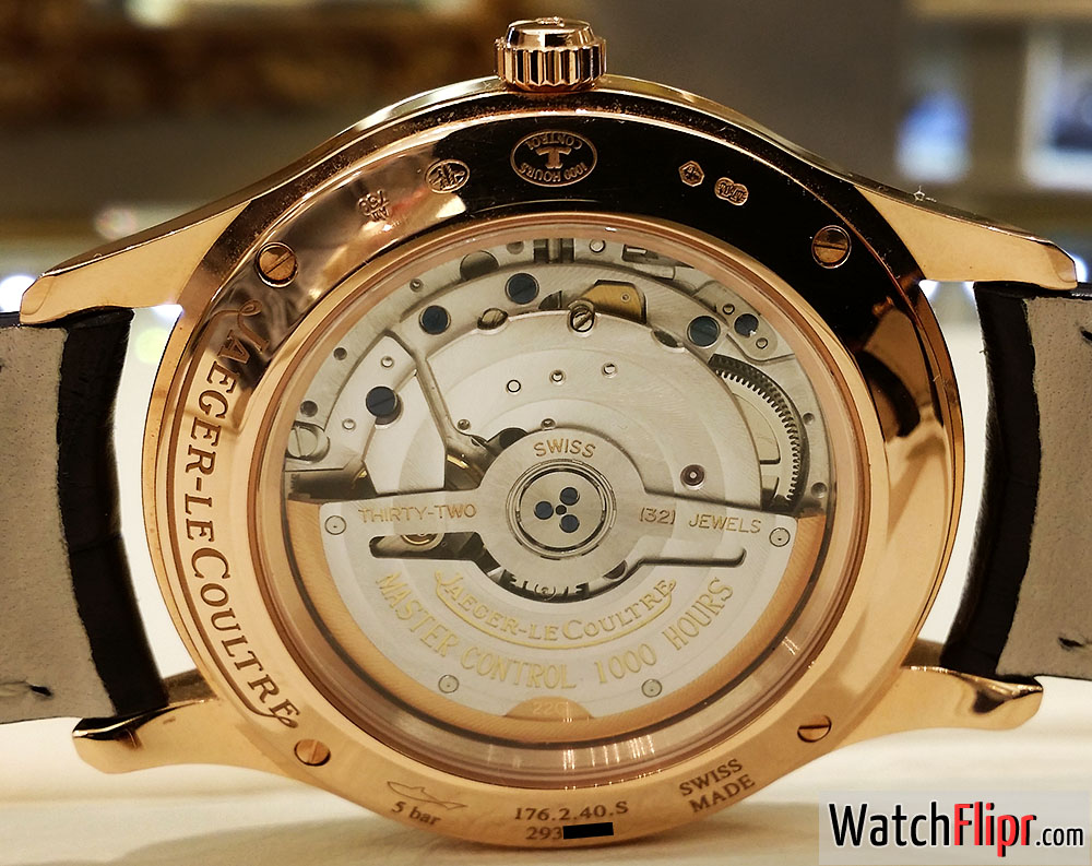 JLC Caliber 899 Jaeger-LeCoultre Master Control Date