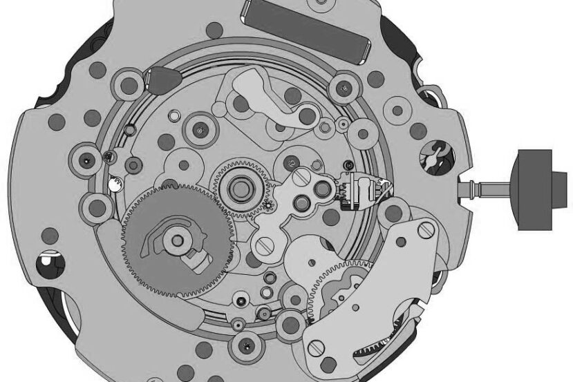 Ronda 5050.C Caliber Movement