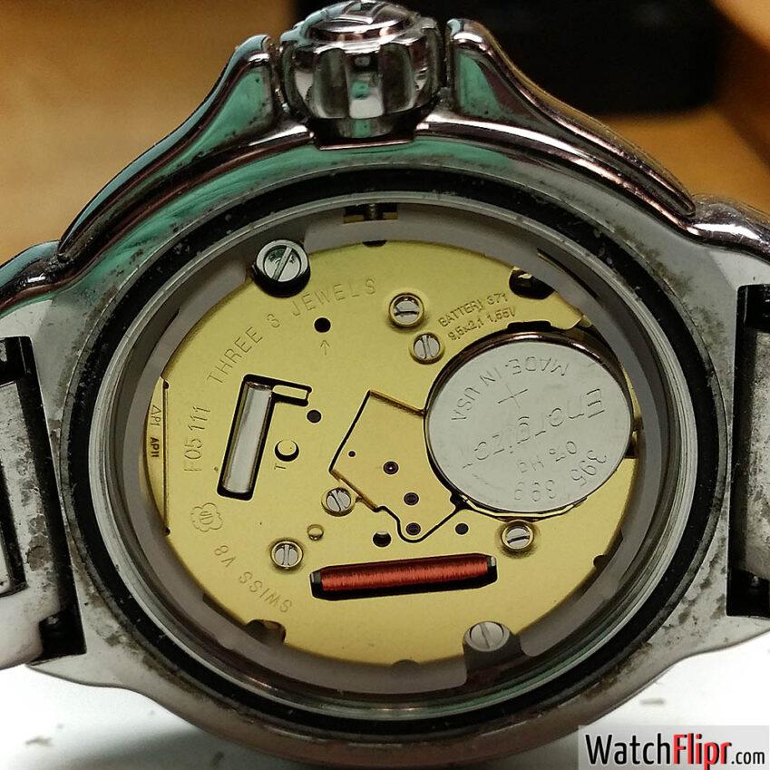 ETA Caliber F05.111 Quartz Watch Movement