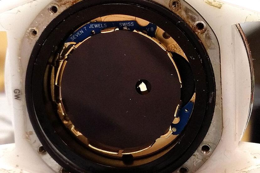 Chanel J12 quartz caliber watch movement