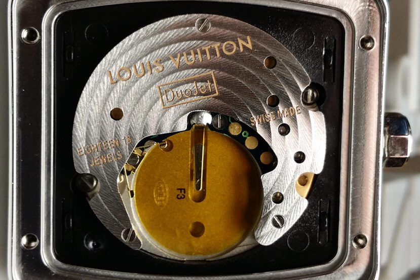 Louis Vuitton Speedy DuoJet Watch
