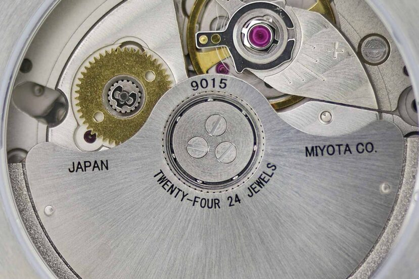 Miyota caliber 9015 automatic watch movement