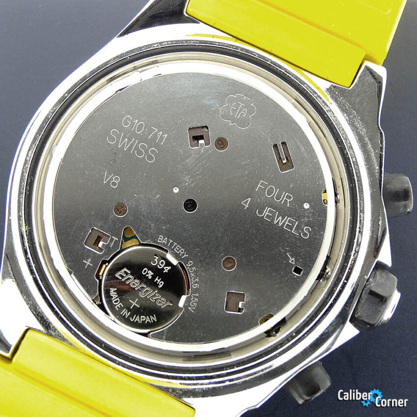 ETA Fashionline G10.711 Caliber Watch Movement