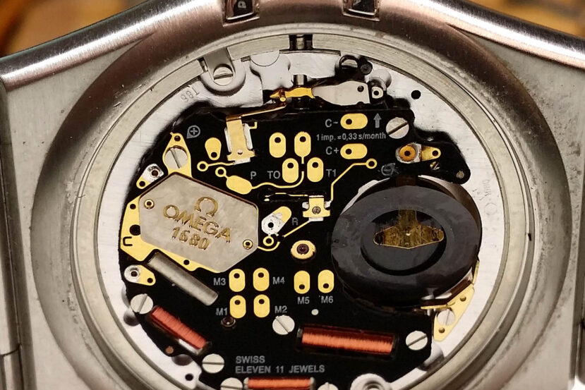 Omega Caliber 1680 Quartz Watch Movement