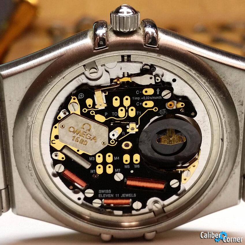 Omega Caliber 1680 Quartz Watch Movement