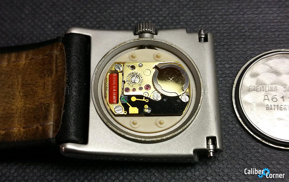 Breiting Caliber 70 UTC Quartz Watch Movement