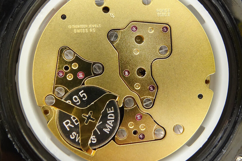 Ronda caliber 5050.B Quartz watch Movement