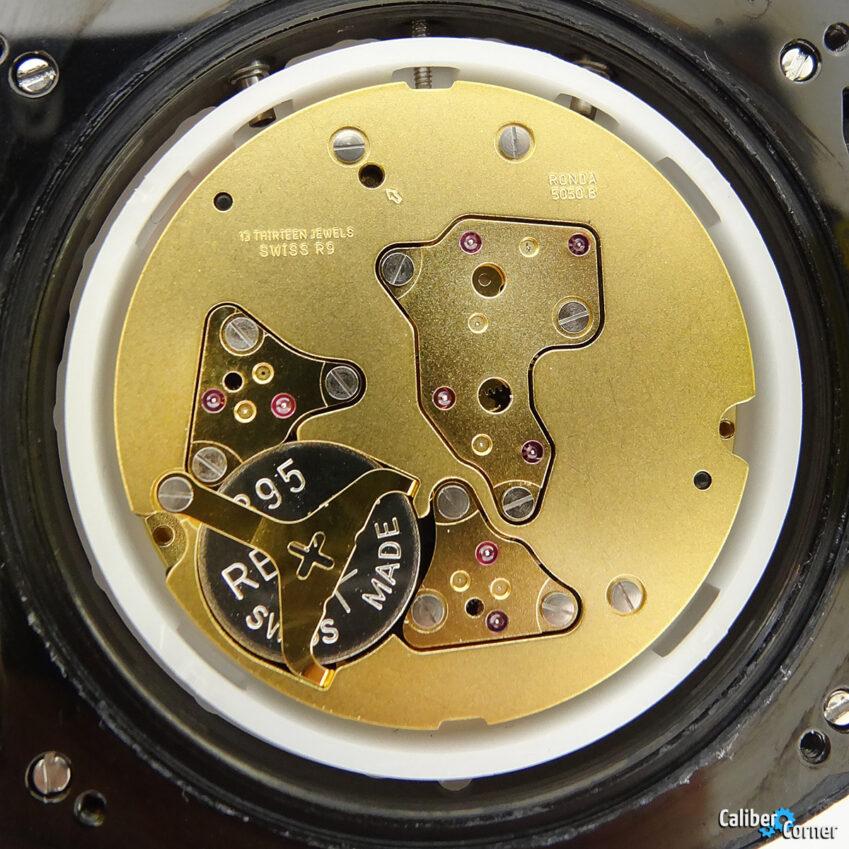 Ronda caliber 5050.B Quartz watch Movement