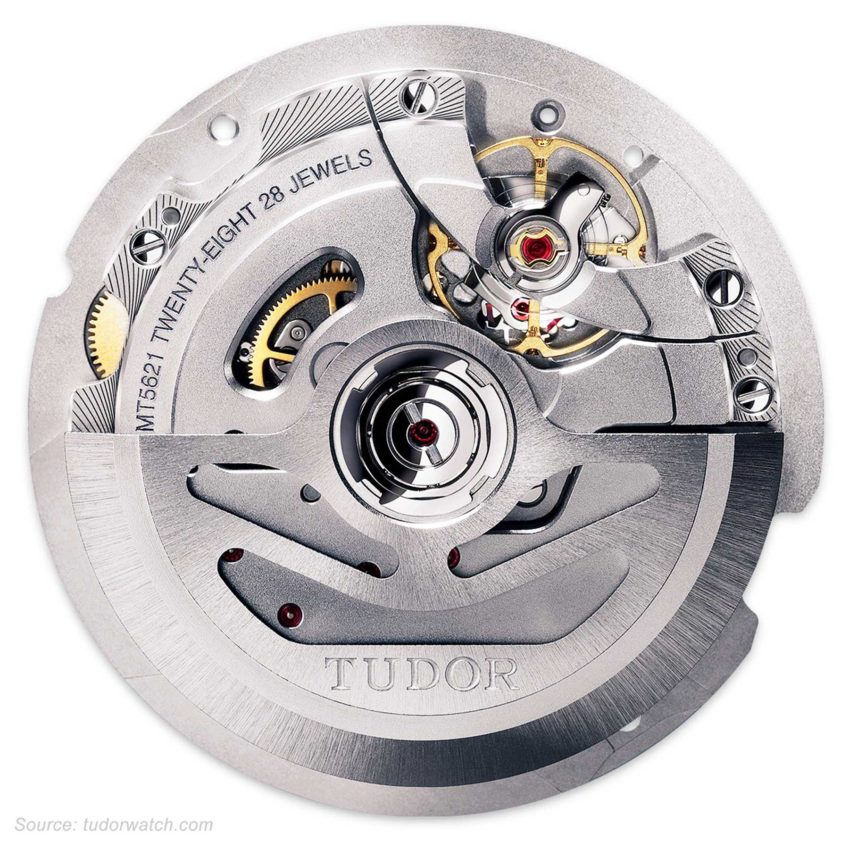 Tudor Caliber Mt5621 Movement