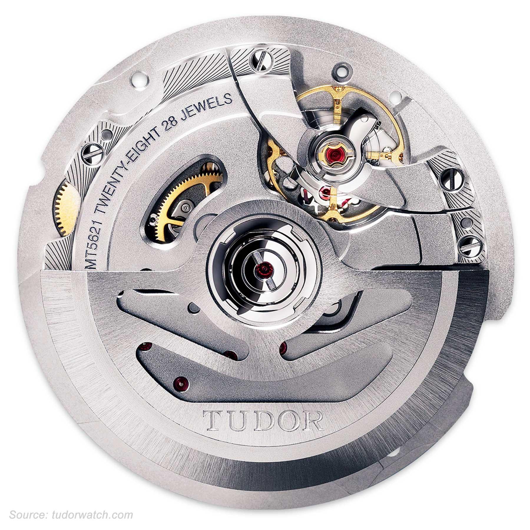 Tudor Caliber Mt5621 Movement