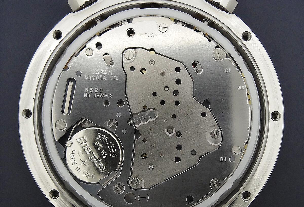 Miyota 6S20 Quartz Chronograph Caliber Movement