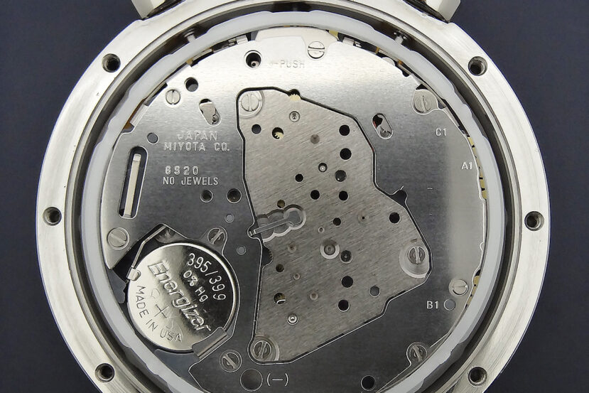 Miyota 6S20 Quartz Chronograph Caliber Movement