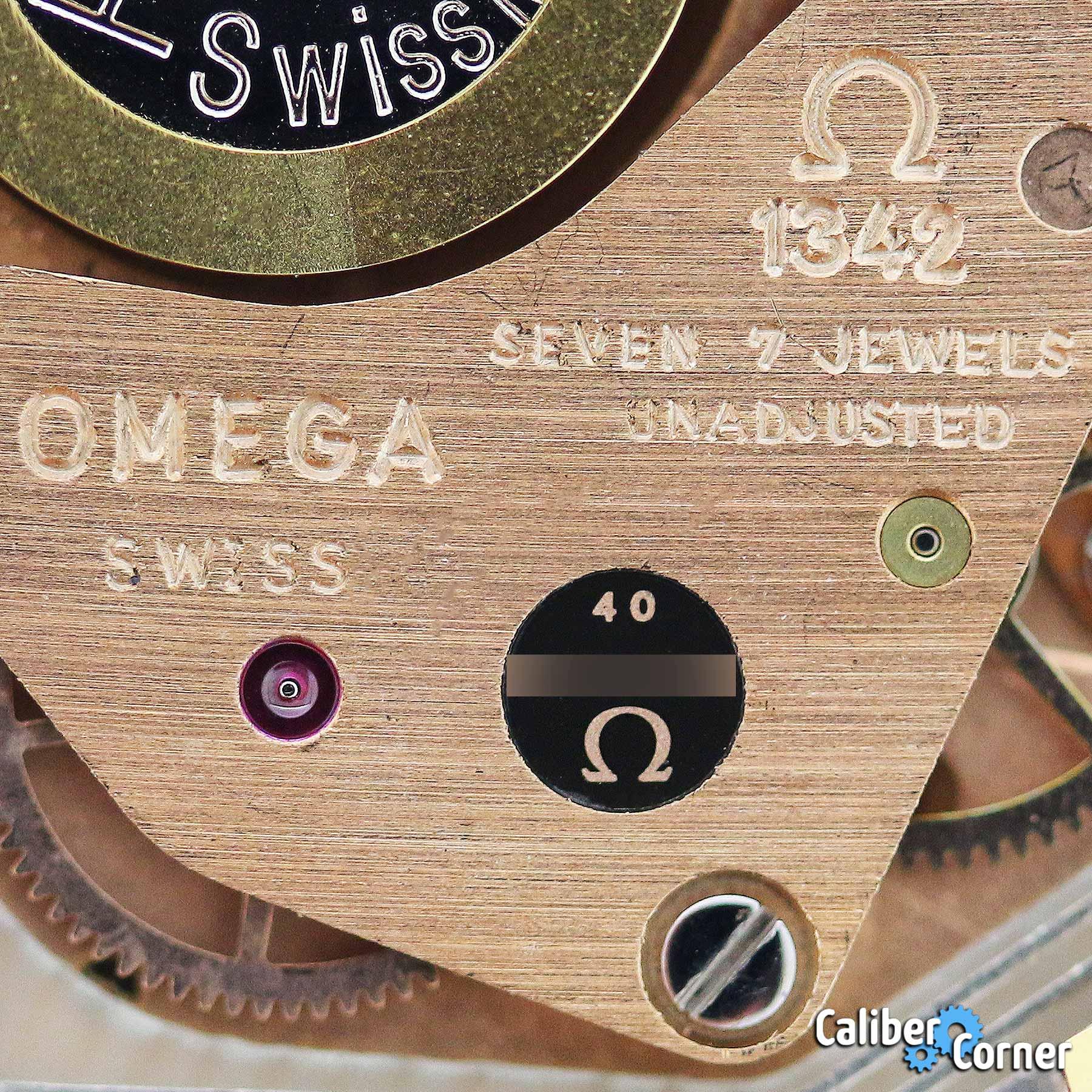 Omega Caliber 1342 Macro 13