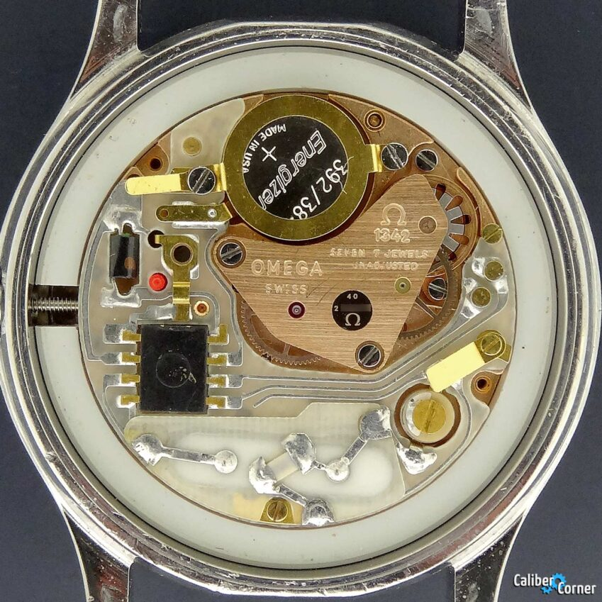 Omega caliber 1342 quartz watch movement