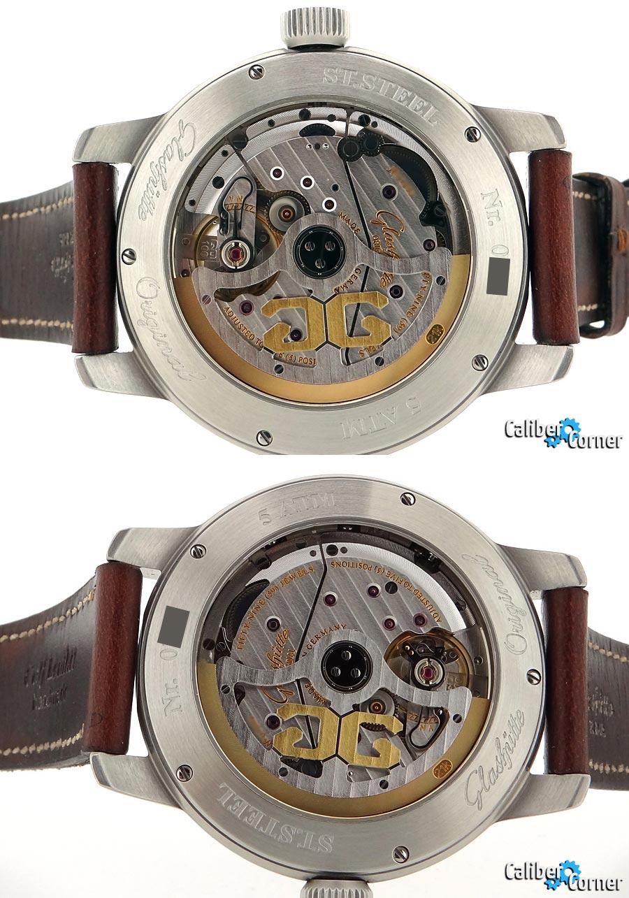 Glashutte Original Caliber 100 In-House Perpetual Calendar Watch Movement