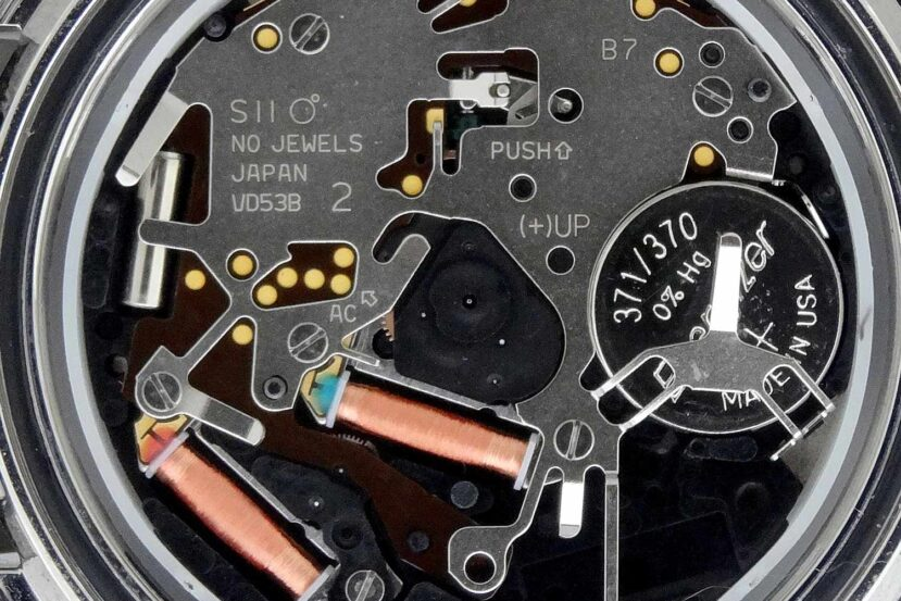 Hattori Seiko Caliber VD53B Quartz SII Watch Movement