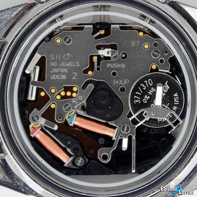 Hattori Seiko Caliber VD53B Quartz SII Watch Movement