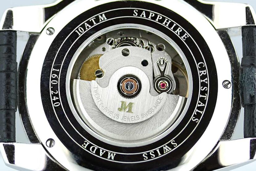 Jean Marcel Caliber JM A05 ETA 2824-2 Automatic Watch Movement