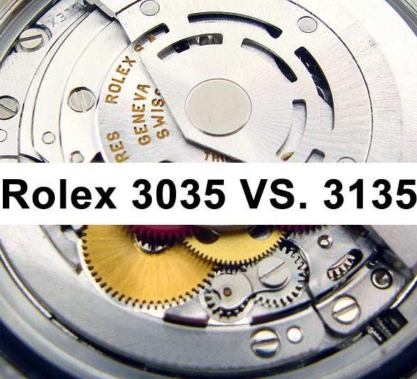 Rolex Caliber 3035 vs 3135 Differences