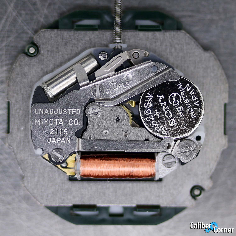 Miyota Caliber 2115 2105 Quartz Watch Movement