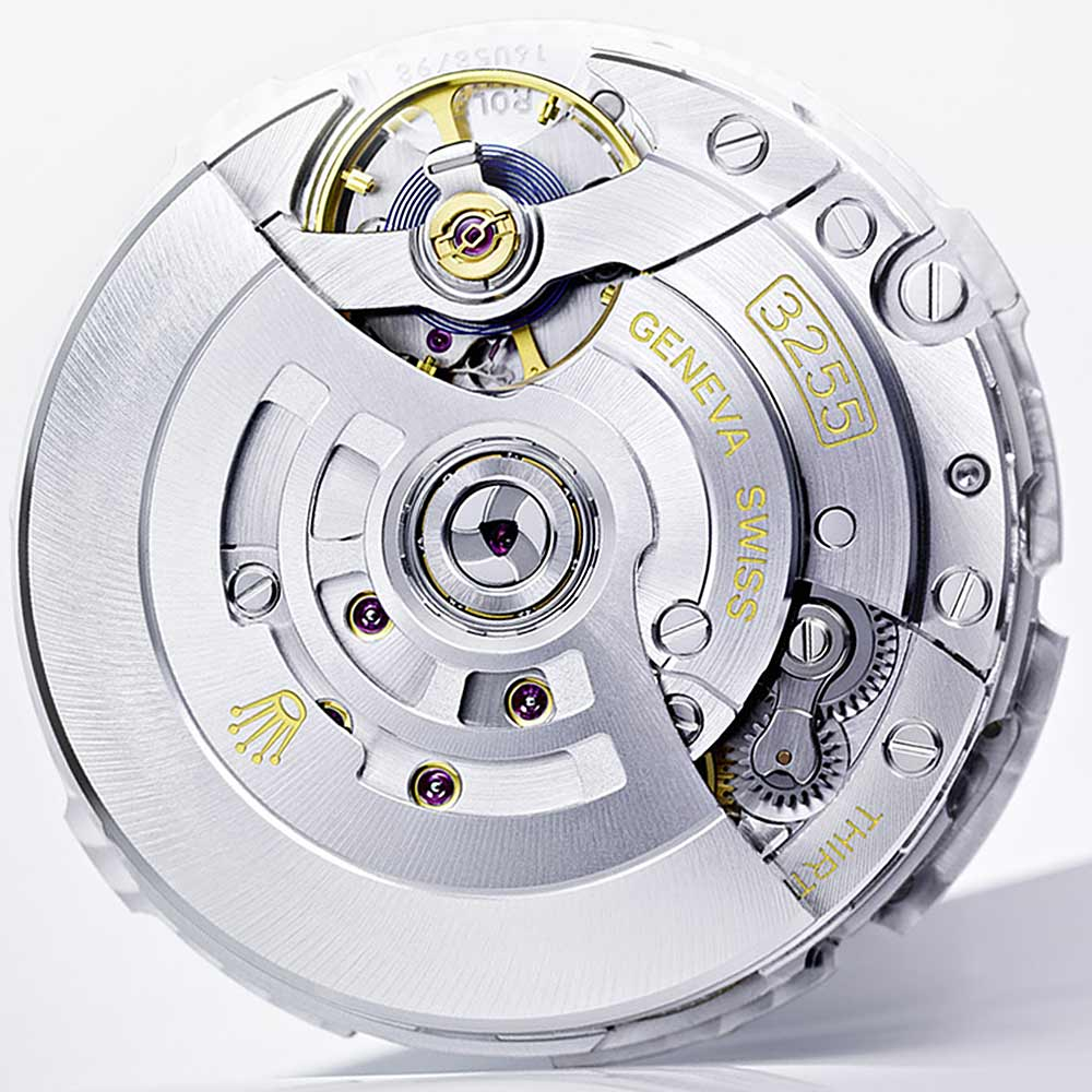 Rolex Caliber 3255 Crown Movement