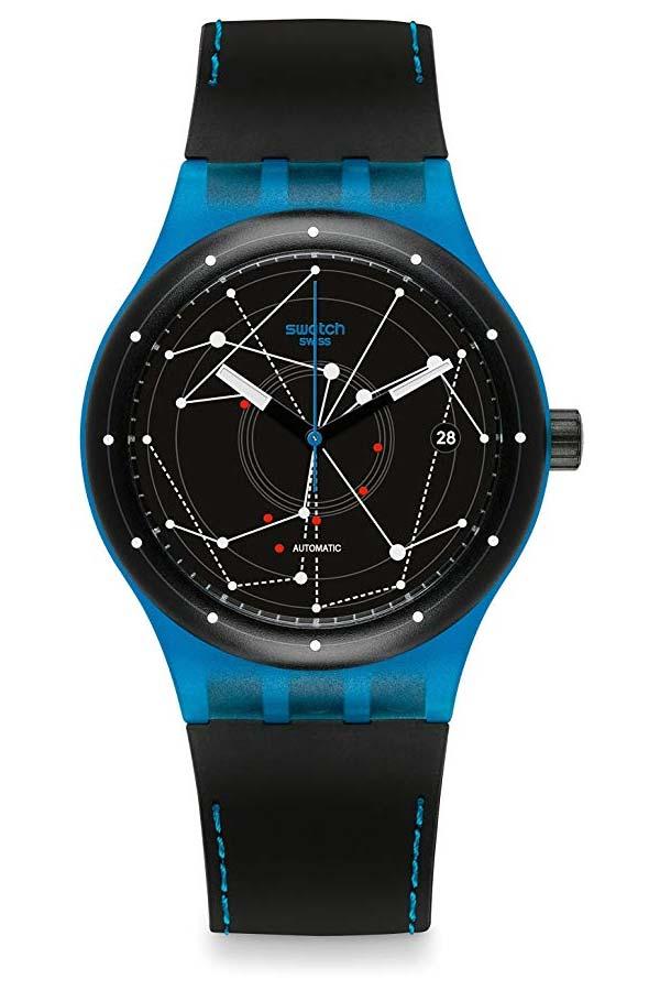 Swatch Sistem51 Suts401 Blue Black