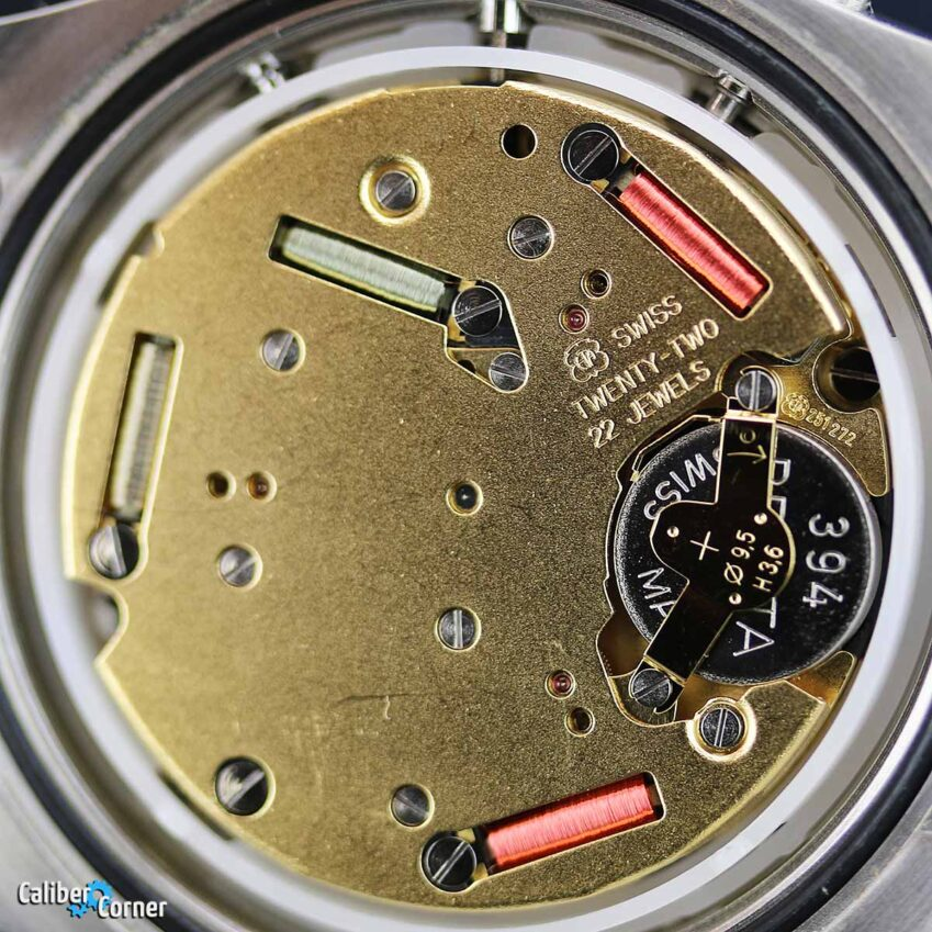 ETA Caliber 251.272 quartz chonograph movement