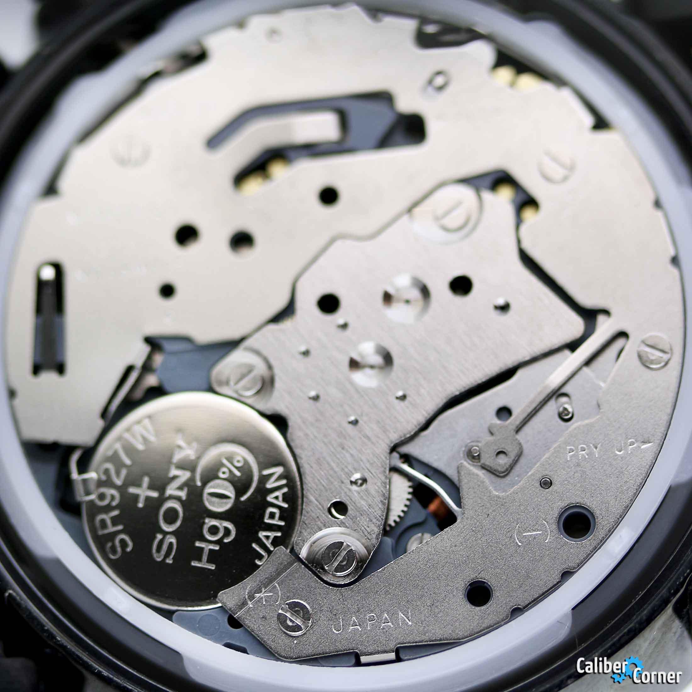 Citizen Miyota Caliber 0S20 aka OS20 quartz chronograph movement