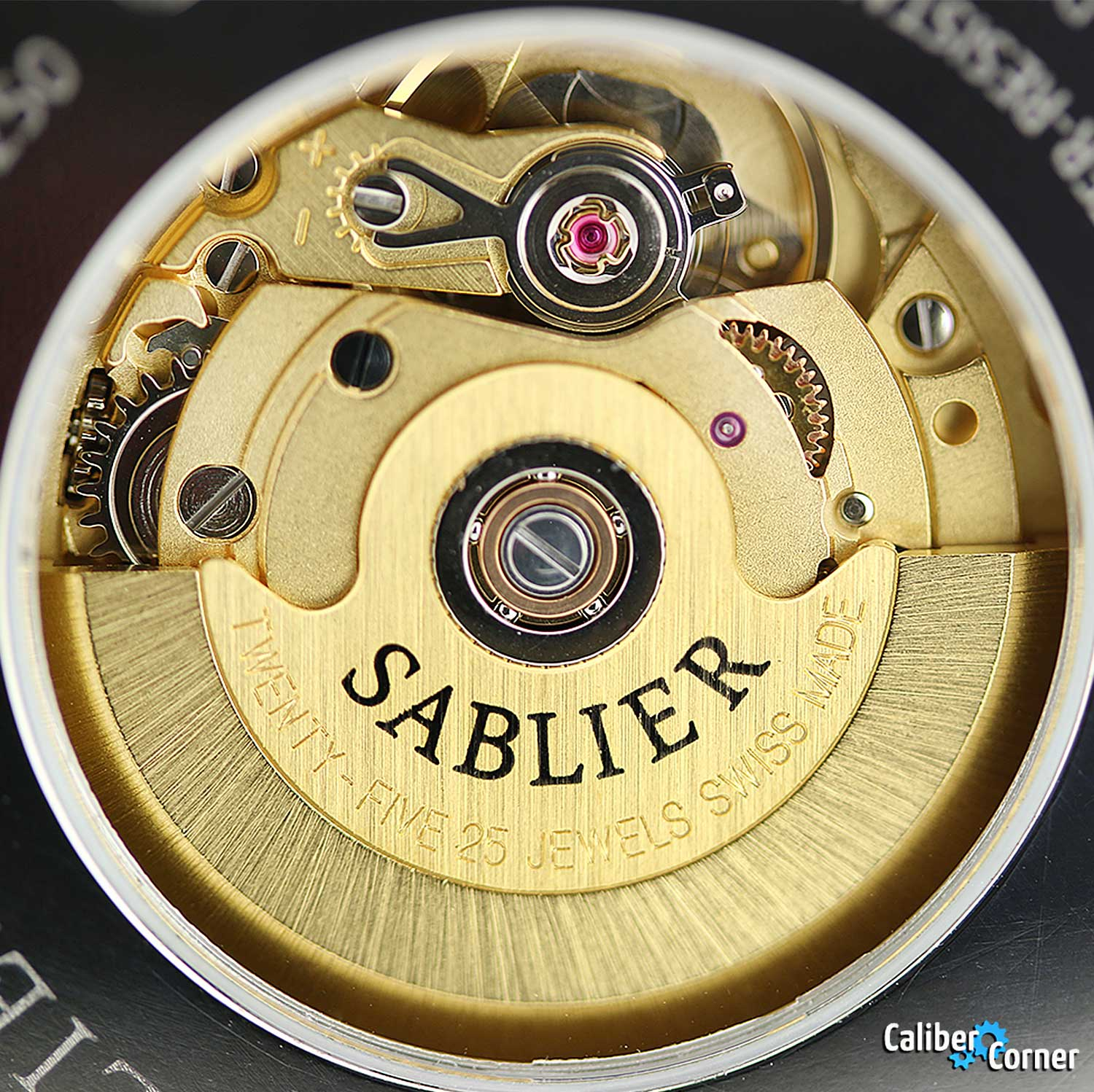 ETA 2824-2 from Sablier with brass finish