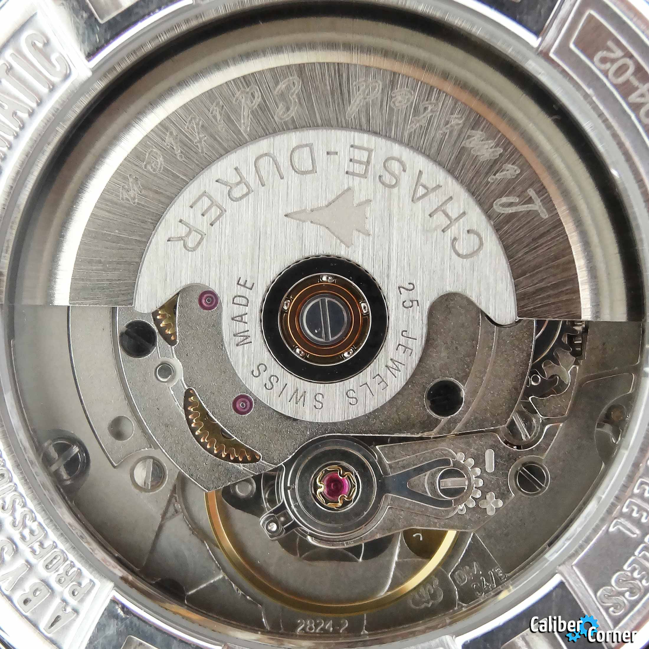 ETA caliber 2824-2 in a Chase Durer watch