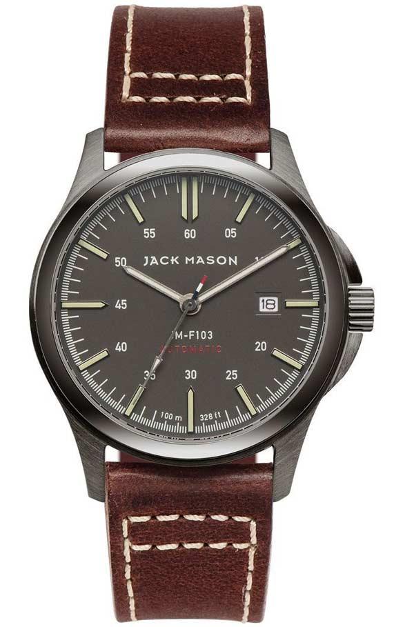 Jack Mason Jm F103 Gunmetal Miyota 821a