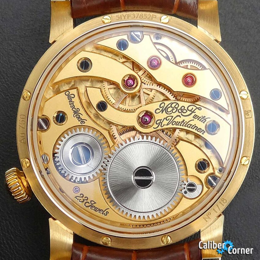 MB&F Caliber LM101 In-House Watch Movement
