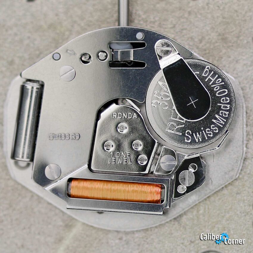 Ronda caliber 763E quartz watch movement