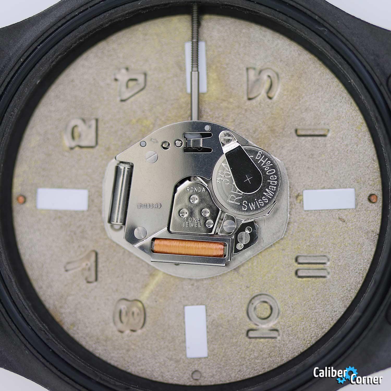 Ronda caliber 763 quartz watch movement