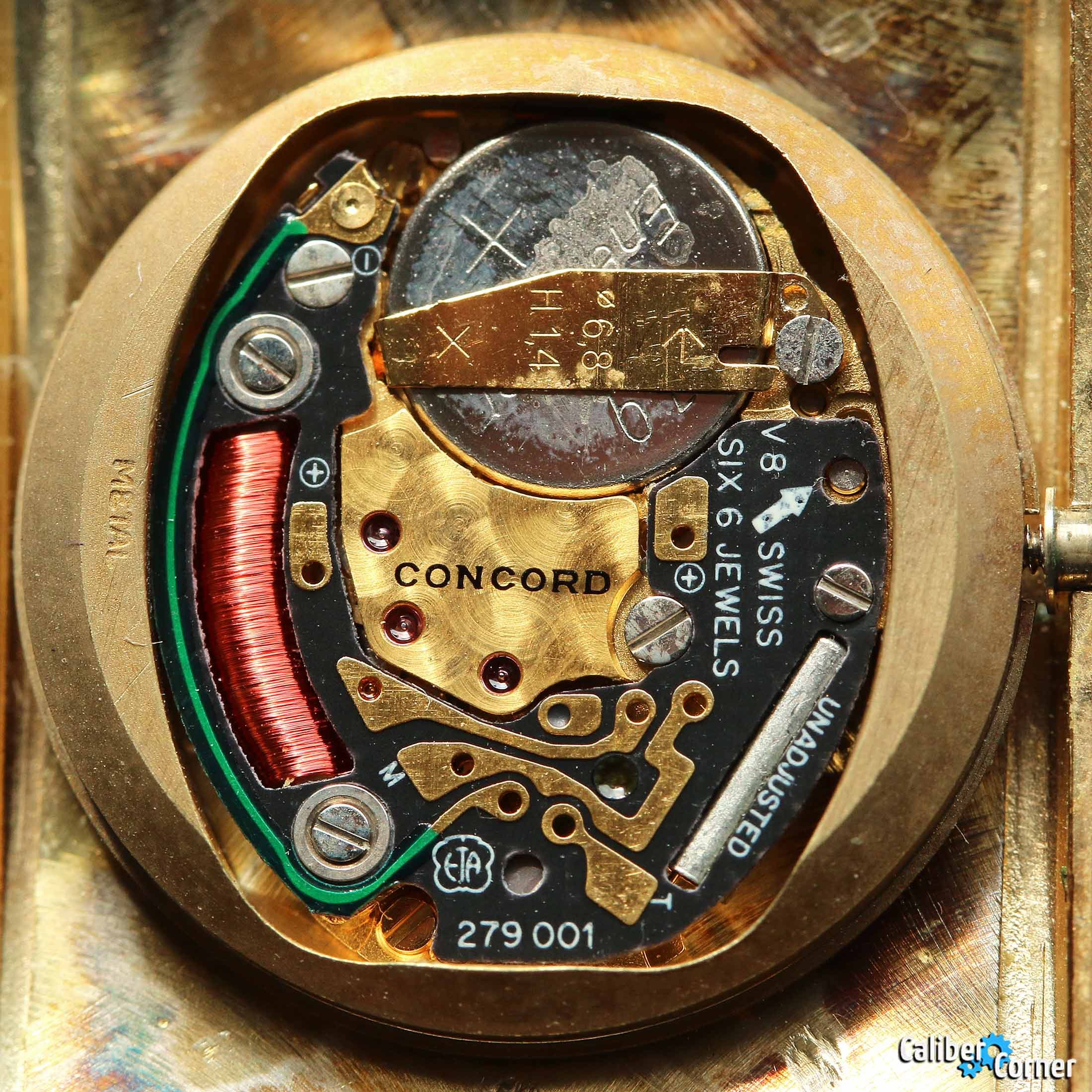 ETA caliber 279.001 quartz movement