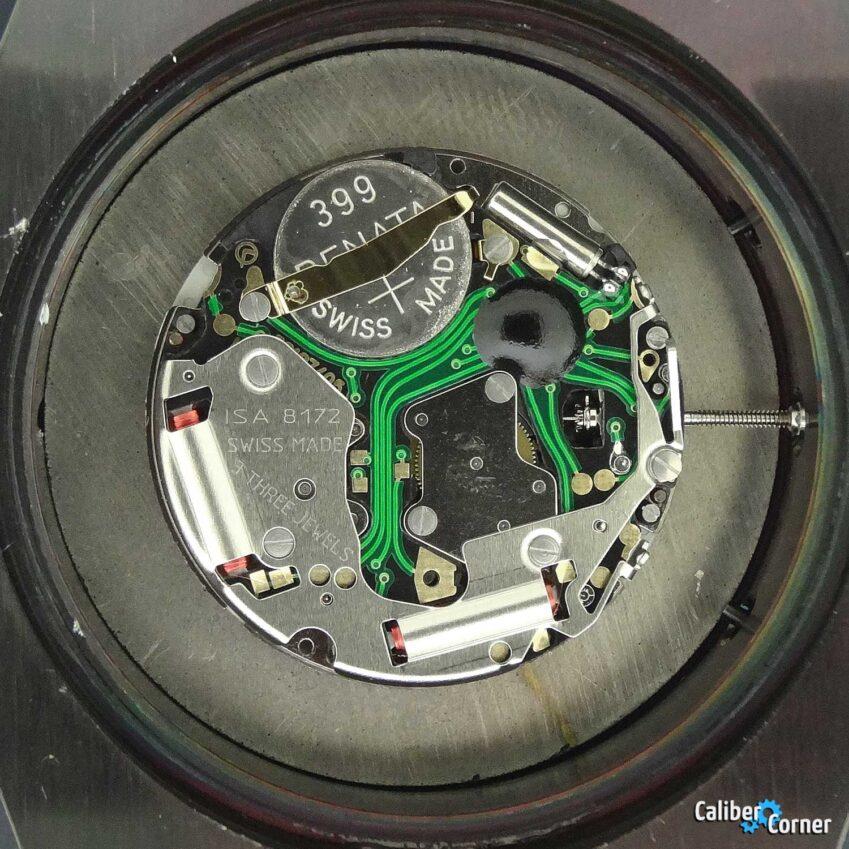 ISA 8172/220 Watch Caliber