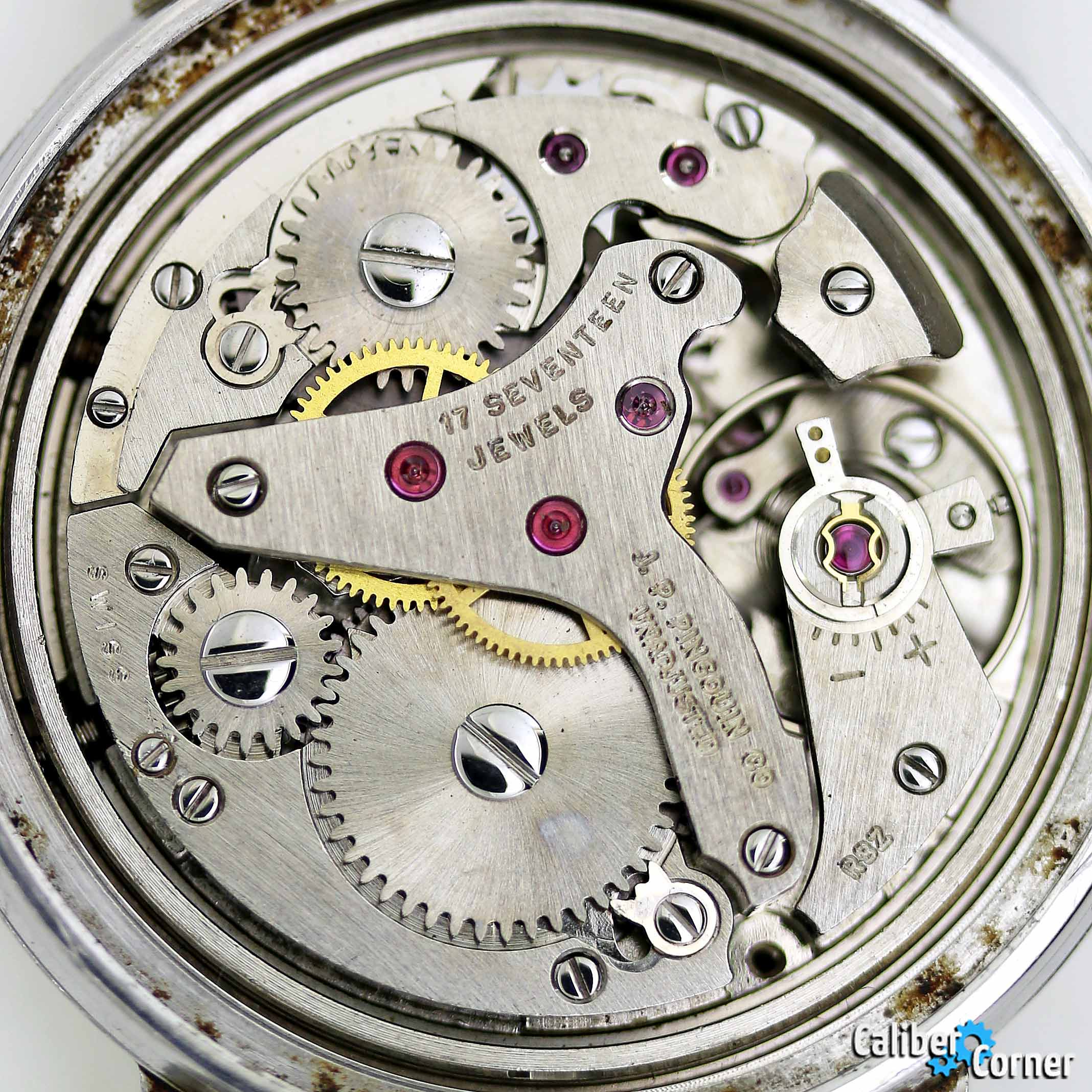 J.P. Pinguoin A. Schild caliber AS 1475 alarm watch
