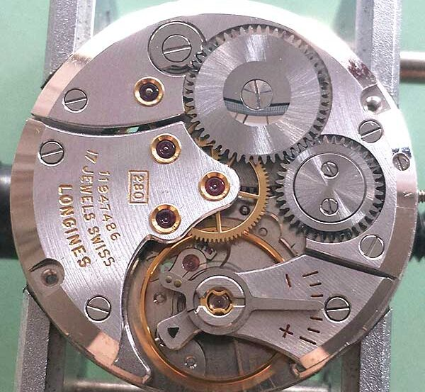 Longines caliber 280 watch movement