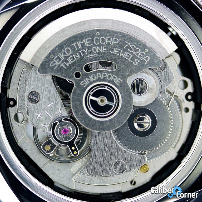 Seiko Caliber 7s26a Movement