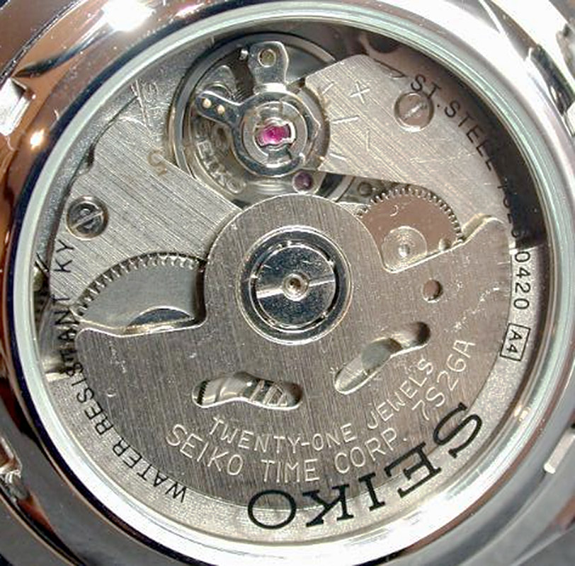 Seiko Caliber 7s26 Watch Movement Calibercorner Com