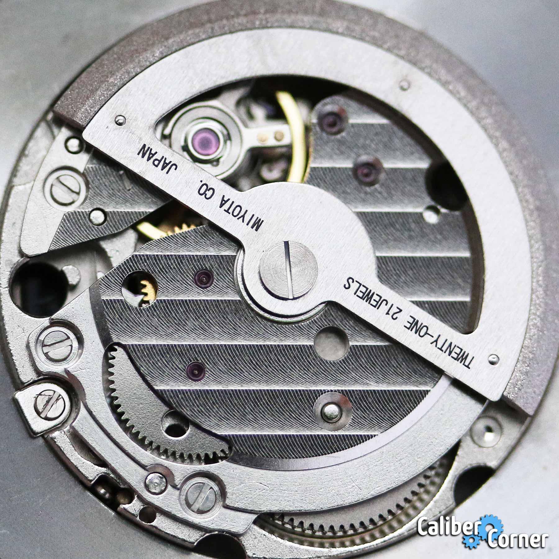 Miyota Caliber 8217 Gears
