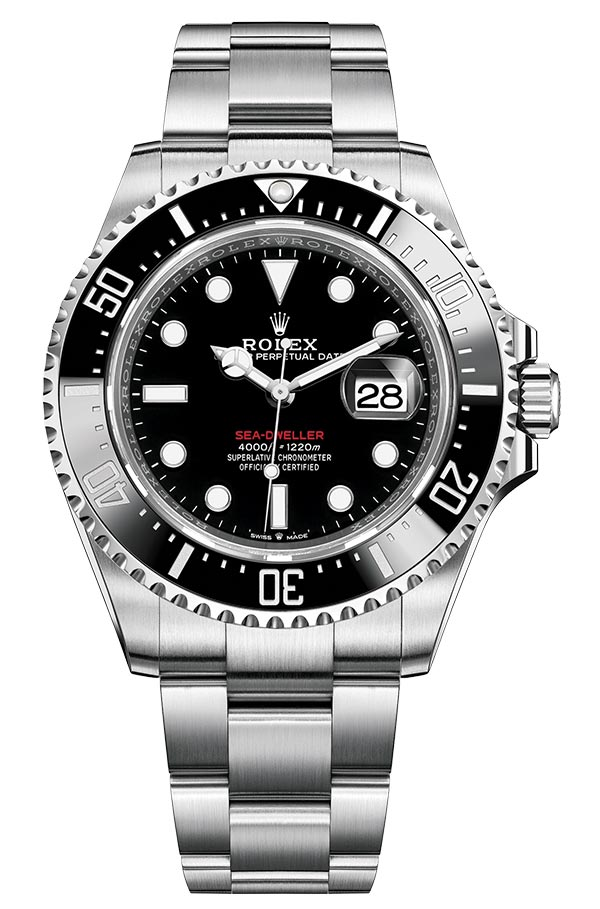 Rolex M126600 Red Sea Dweller